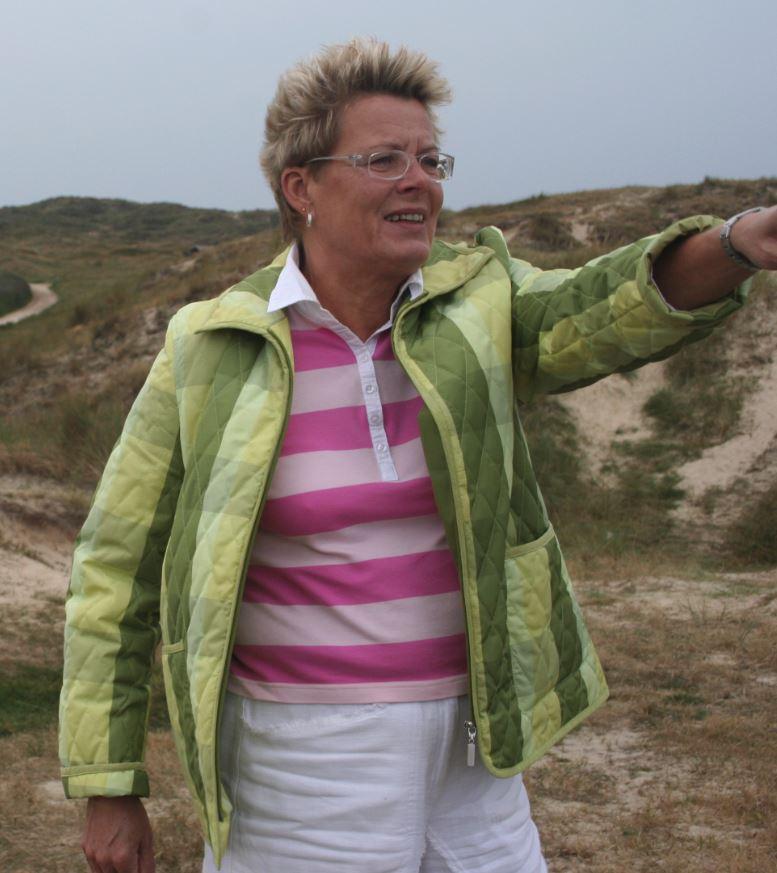 Kirsten Grønnebæk ved Fanø mødet i 2005